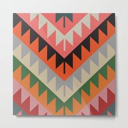 American Native Pattern No. 154 Metal Print