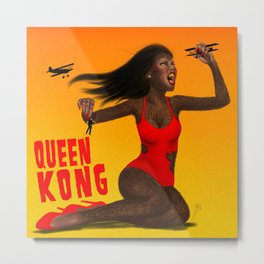 Queen Kong Metal Print