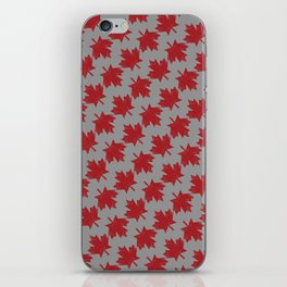Canadian Pattern iPhone Skin