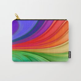 Abstract Rainbow Background Carry-All Pouch