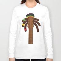 reggae Long Sleeve T-shirts featuring Reggae by Emir Simsek