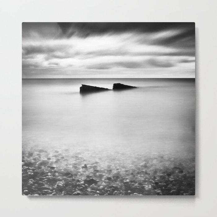 Jagged Sea Metal Print