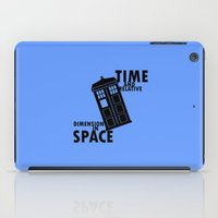 tardis iPad Cases featuring Tardis by amyskhaleesi