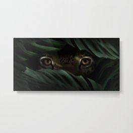 Prowling Jaguar Metal Print