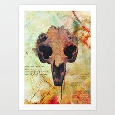 Crânio Dissonia Art Print