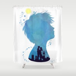 I am Finding Neverland Shower Curtain