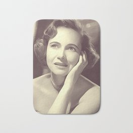 Teresa Wright, Vintage Actress Bath Mat