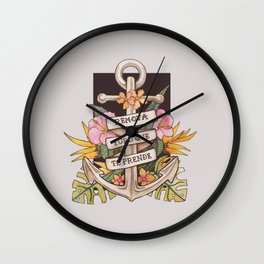 Remove everything that holds you down Wall Clock