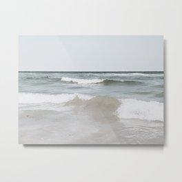 Summer waves Metal Print
