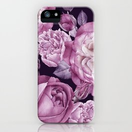Wildflower rose flower in a watercolor style isolated Full name of the plant rose hulthemia rosa iPhone Case
