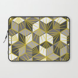 Fireworks geometric pattern Laptop Sleeve
