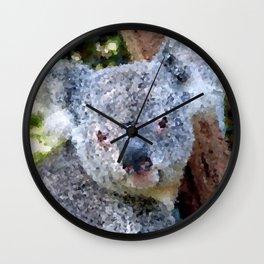 Poly Animals- Koala Wall Clock