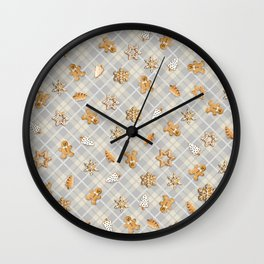 Gingerbread Light Wall Clock
