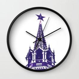Kremlin Chimes-violet Wall Clock