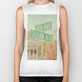 Ocean Boulevard Biker Tank