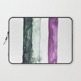 asexual pride flag Laptop Sleeve