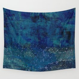 Turquoise Canyon Wall Tapestry