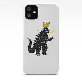 Jean-Michel Basquiat's Crown on Japanese Monster iPhone Case