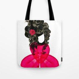 Miss Petals Tote Bag