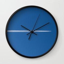 Contrail Wall Clock