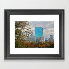 BOSTON STAND UP Framed Art Print