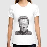 christopher walken T-shirts featuring Christopher by Rik Reimert