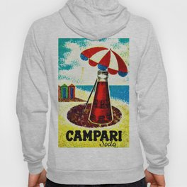Vintage 1957 Cordial Campari Advertisement Poster Hoody