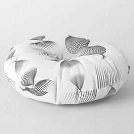 Veggie & Co - Black and White Floor Pillow