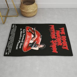 New Giclée Art Print 1975 Promo Poster Rocky Horror Picture Show Rug