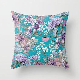 FLORAL GARDEN 10 Throw Pillow