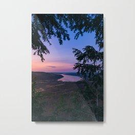 Sunset over Keuka Metal Print