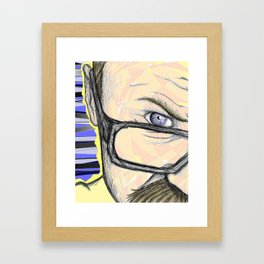 Self Absorption Framed Art Print