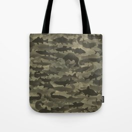 Fresh water fish camouflage Tote Bag