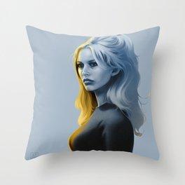 BRIGITTE BARDOT 1969 Throw Pillow