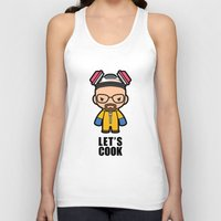 cook Tank Tops featuring Let's Cook by Papyroo