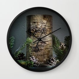 Candle Decor Wall Clock