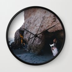 The mermaid that lost her tail Wall Clock