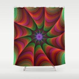 Monster gut Shower Curtain
