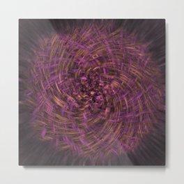 Original Purple Metal Print