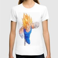 vegeta T-shirts featuring Ascended Super Saiyan Vegeta by bmeow
