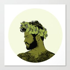 Green Crown Canvas Print