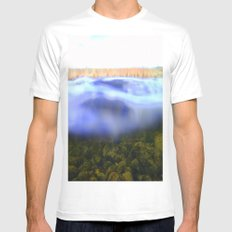 Drowning MEDIUM Mens Fitted Tee White