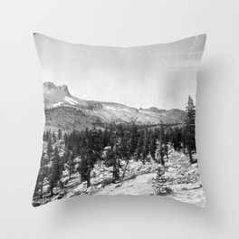 Mount Hoffmann, Yosemite National Park 1907 Throw Pillow