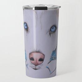 Husky Siberian Travel Mug
