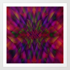 Abstract color Dream Art Print