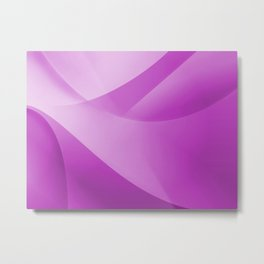 Purple Wallpaper Metal Print