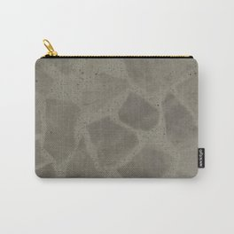 GREY CRAZY PAVING PATTERN Carry-All Pouch