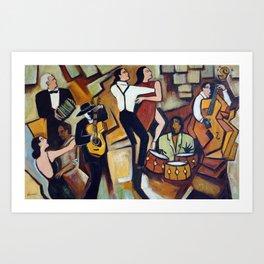 Suenos de Tango Art Print