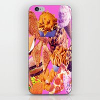 junk food iPhone & iPod Skins featuring Junk  by ♡♡Transparent Mess♡♡