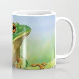 Moltrecht's Green Treefrog Coffee Mug